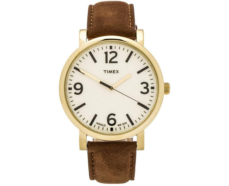 b14a26157dd Timex Originals se zlaceným pouzdrem