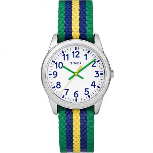 Timex Youth ocelové modro zelené a9ce6294c3