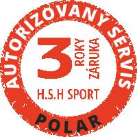 3 roky záruka Polar